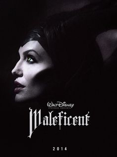 """Maleficent Teaser Poster by Hause Of Mr. Peter, via Flickr - Release date 5/30/2014 - The """"Sleeping Beauty"""" tale is told from the prespective of the princess' evil nemesis, Maleficent.  Directed by Robert Stromberg and stars Juno Temple, Sharlto Copley (District 9), Elle Fanning (Super 8) as Princess Aurora and Angelina Jolie as Maleficent."""