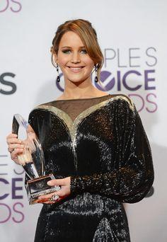 Jennifer Lawrence at People's Choice Awards