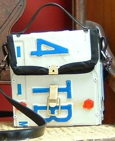 License plate purse tutorial @alberta