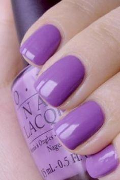 Purple OPI nail polish Best voted OPI Nail Polish Lacquer #nail #polish @opulentnails #OPI