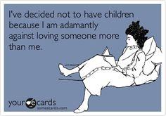 I am selfish...apparently... children attent, humor, kid