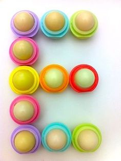 eos lip balm is packed with Vitamin E! Love Eos...it's my favorite....works amazingly
