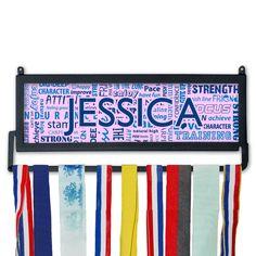 Personalized Race Medal Display Running Motivation MedalART