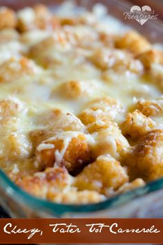 Yes! A tater tot casserole without can creamed soup! AN easy, homemade alternative makes up this cheesy, beefy casserole.It's a comfort food your whole family will enjoy, and it's pretty simple to throw together! #casseroles #cheesyrecipes #tatertotcasserole #comfortfoods #familymeals