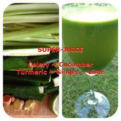 Alkaline Super Green Juice!
