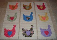Funky Chicken quilt
