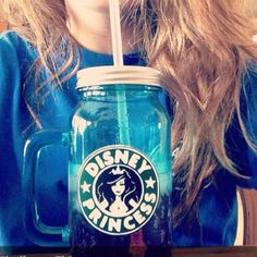 DISNEY PRINCESS/STARBUCKS CUP