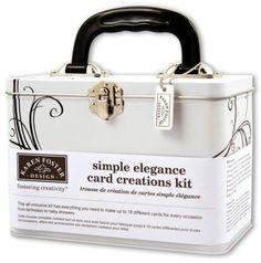 Karen Foster Simple Elegance Card Creations Kit