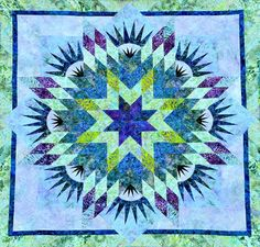Summer Solstice, Quiltworx.com, Made by CI Jerrine Kirsch.