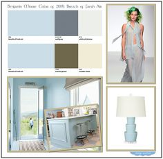 Colour of the year 2014 on pinterest 20 pins for Benjamin moore breath of fresh air