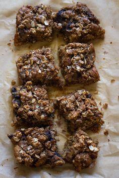 blueberry muffin bread pudding bake // edible perspective #glutenfree #vegan