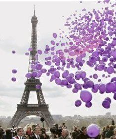 radiant orchid, purpl balloon, balloon pantone, birthdays, purple paris, beauti, place, purple balloons, color swatches