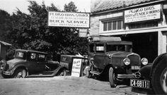 Highland Park district of Dallas, Texas, Pedigo Brothers Garage.