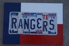 Texas Rangers baseball!