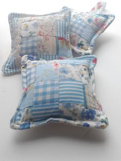 Patchwork lavender sachet / scented pillow by DawnChorusStudio, £8.50