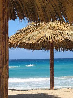 Cuban beach.