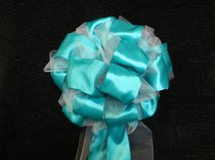 12 Wedding/Pew bows jade satin ribbon set on by creativelycarole, $120.00