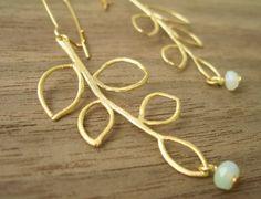 branch earring, earring israel, branches, pretti earring, earrings