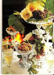 Table Setting. Antiques And Teacups: Christmas With Victoria Magazine Blog Party December 1992 Victoria