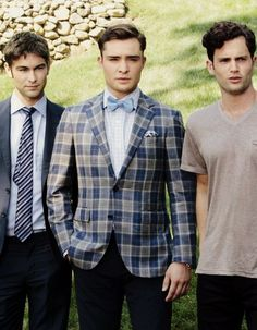 The men of Gossip Girl.