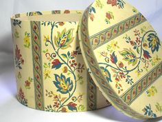 Vintage 19th Century Styled Oval Band Box/Hat Box by borahstyle, $25.00