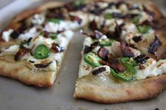 Jalapeno Popper Pizza via @Heather Creswell Christo