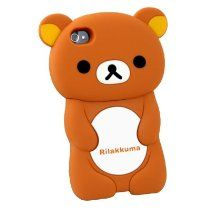 [Brown] 3D Rilakkuma Bear Hard Case for #iPhone 4/4S - Reminds me of Pedobear xD