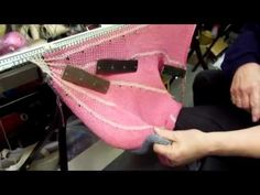 knit wit, knit short, knit machin, knitting machine, knit video, machin knit, loom knit