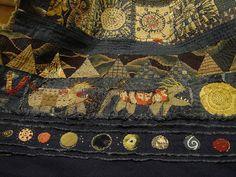 journey continu, jude hill, quilt, fiber jude, small journey, textil, hill spirit