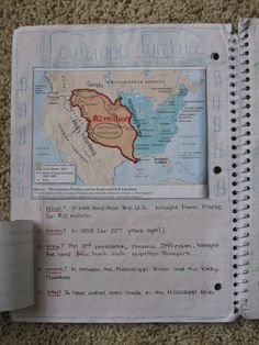 Interactive Notebook for social studies...great ideas here!