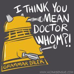 Grammar Dalek!!