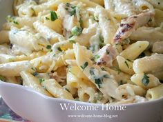 Penne with Grilled Chicken