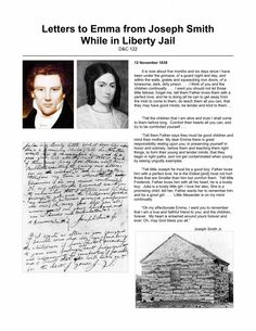 Letters-to-Emma from Joseph in liberty