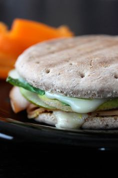 Pressed Pear Turkey Sandwich