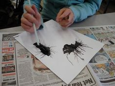 a faithful attempt: Ink Creatures
