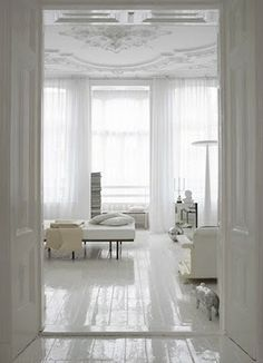 white and light...
