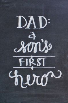 Free Father's Day Chalkboard Printables