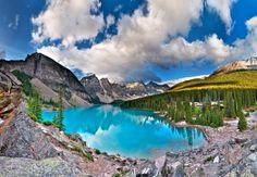 nation park, banff nation, alberta, canada, morain lake, lakes, national parks, beauti, place
