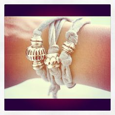 fabric bracelet diy - Google Search