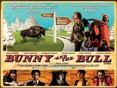 Simon Farnaby and Edward Hogg in BUNNY AND THE BULL. Best film ever.