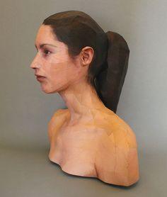 Realistic 3D Paper Portraits by Bert Simons | Bored Panda