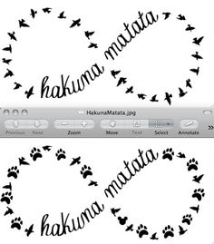 disney tattoo - I really want this!! I love the paw print one I know i pinned the bird one before