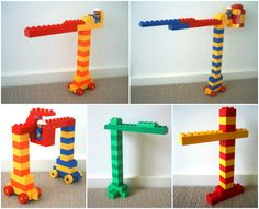 different cranes lego duplo ideas