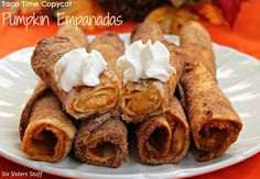 Six Sisters' Stuff: Taco Time Copycat Pumpkin Empanada Recipe