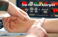 Test for Food Allergies by taking a pulse