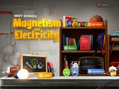 Best Science Apps for Older Kids: Meet Science: Magnetism and Electricity