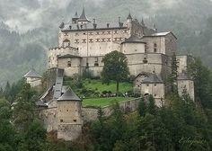 Burg Hohenwerfen Castle in Austria near Salzburg