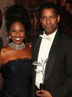 """Denzel Washington, everyone's favorite leading man, has been devoted to his leading lady, Pauletta, for 29 years. The couple renewed their wedding vows in South Africa in 1995. The secret to their success? """"Do what she tells me,"""" Denzel said in a 2010 interview."""