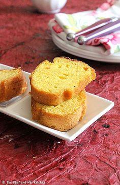 Mango Pound Cake