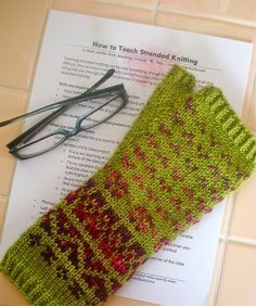 How to Teach Stranded Knitting by Elizabeth Green Musselman